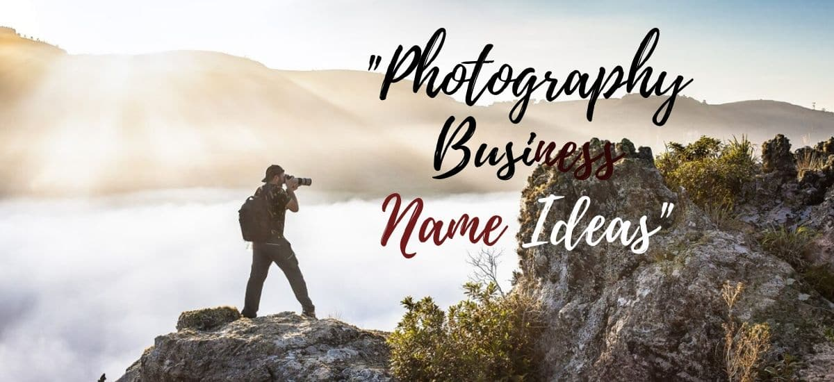 250 Photography Business Names Ideas Suggestions Brands List